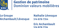 The Archambault/Lévesque Group  of RBC Dominion Securities
